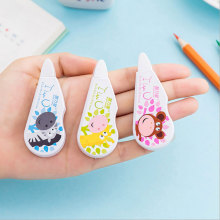 1 x Creative cartoon Animal Correction tape Kawaii school supplies office shuttle fish students stationery