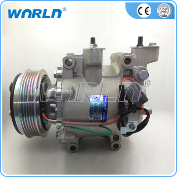 Auto Ac Compressor For HONDA CITY JAZZ FIT Civic 1.4 2006-2011 38800-RSH-E010/M2 /38810REAZ12/38810-RSH-E01/38810-RSH-E010