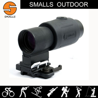 Airsfot Tactical Rifle Scope G23 QD FTS 3X Magnifier Scope Mount On 20mm Picatinny Rail For