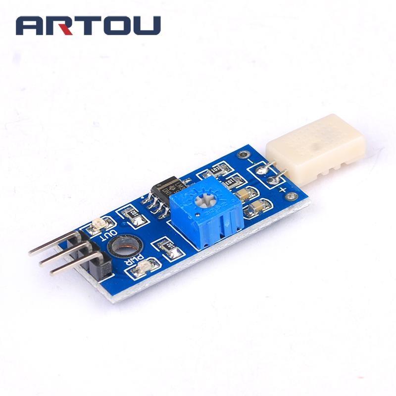 5 Pcs Humidity Detection Rain Steam Sensor Board Module for Arduino DIY