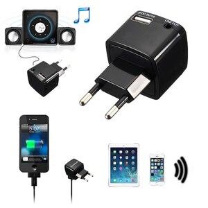 Image 4 - Draadloze Bluetooth Receiver Audio Adapter 3.5 Mm Aux Stereo Muziek Ontvanger V3.0 Eu Us Plug Ac Adapter 110 ~ 240V Voor Bedrade Luidspreker