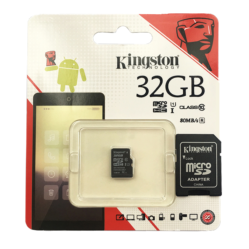 kingston micro sd card class 10 32gb 64gb memory card 16gb microsd tarjeta micro sd flash 128gb. Black Bedroom Furniture Sets. Home Design Ideas