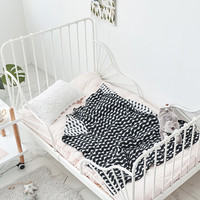 Hot sale Home Textile Knitted Double sided Nap Kids Warm Blanket For sofa Travel Soft Blanket For Bed TV Blanket Bedspreads