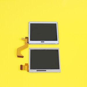 Image 3 - 10 أجزاء/وحدة العلوي العلوي شاشة الكريستال السائل قطع غيار للشاشة لنينتندو DS لايت ل DSL أسفل السفلي ل NDSL DSLite