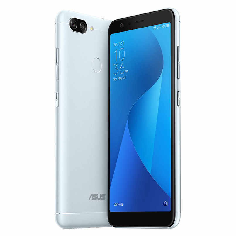 Global Asus Zenfone Max Plus (M1) Mobile phone 5.7 inch 18:9 FHD+ 4GB  64GB Rom MT6750T Octa Core 4130mAh OTG Android Smartphone