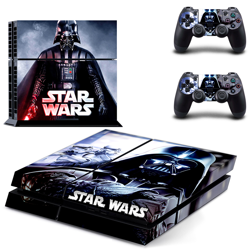 OSTSTICKER Pro Gamer For Star Wars Skins For Sony Play station 4 Controller Decal Sticker Console Game Accessories