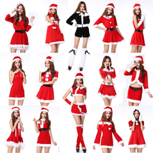 Free Shipping Female adult christmas clothes ball of company annual meeting costume rabbits loaded