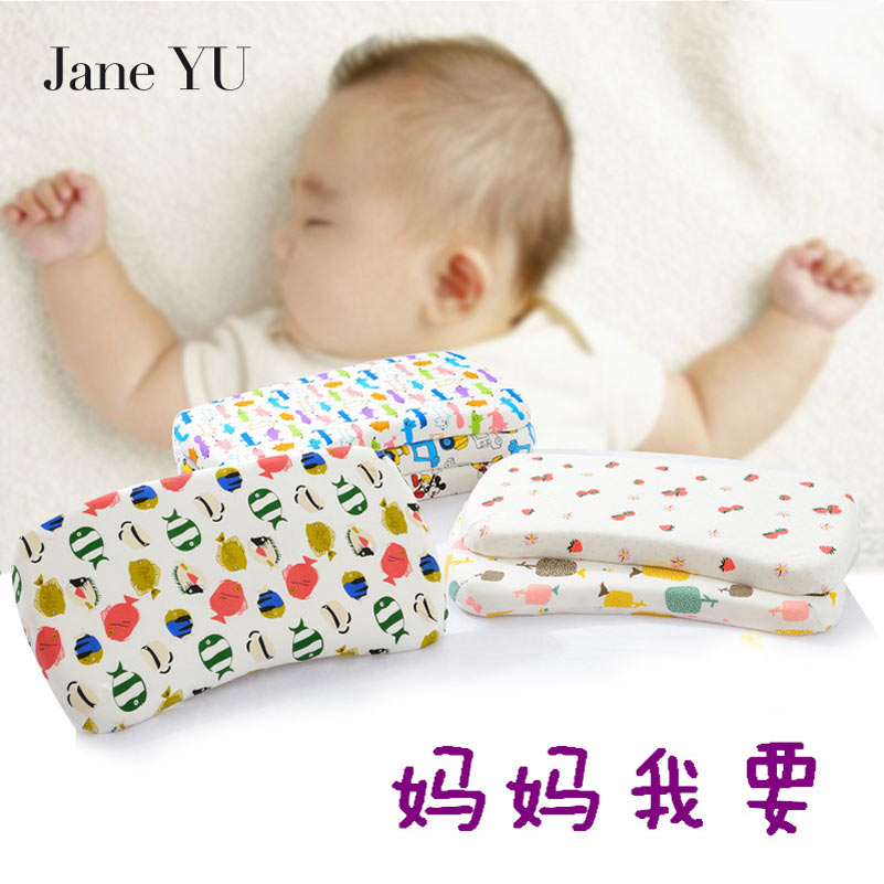 Janeyu 2019 New Arrival 100% Cotton Memory Foam Neck Rectangle 0.5-1 Kg 40 400tc Quality Pillow