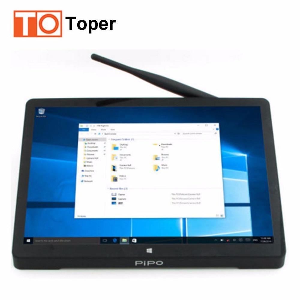 Original PIPO X10 Mini PC 10.8inch Intel Z8350 Quad Core Windows10/Android 5.1 4GB/64GB TV Box Windows PC Computer 10000mAh