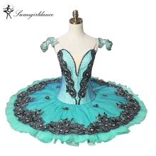 free shipping Adult green classical ballet tutu for competition,professional ballet tutus,ballet costumes professionalBT8973