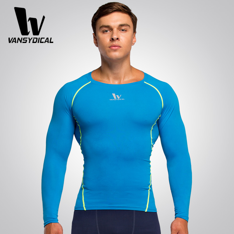 e69ebede6a5100 Mens shirt Sport Fitness Compression Shirt Men Bodybuilding Long Sleeve T Shirt  Gym Crossfit Running tops-in Running T-Shirts from Sports & Entertainment  on ...