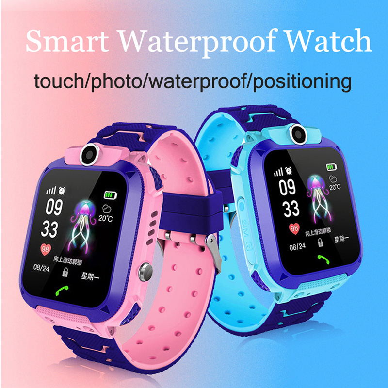 2019 Newest Waterproof Kid Smart Watches Baby Watch For