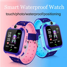 2019 Newest Waterproof Kid Smart Watches Baby Watch for Children SOS Call Location Finder Locator Tracker Anti Lost Monitor(China)