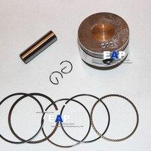 Поршневой комплект 56 мм для Honda GX100 двигателя забойный трамбовальный инструмент Поршень с защитой от повреждений и кольцом контактный зажим Замена