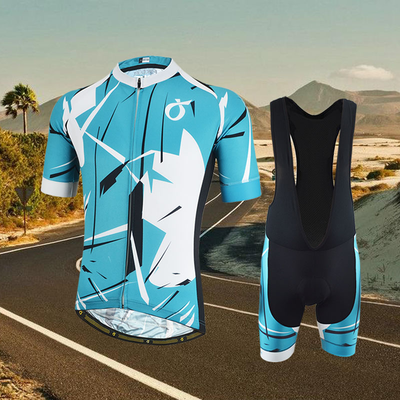 EMONDER 2018 Men Cycling Jersey New Short-sleeved Riding clothes Bike Sports Jersey Bib Shorts Wear Riding Equipment 4D Padded