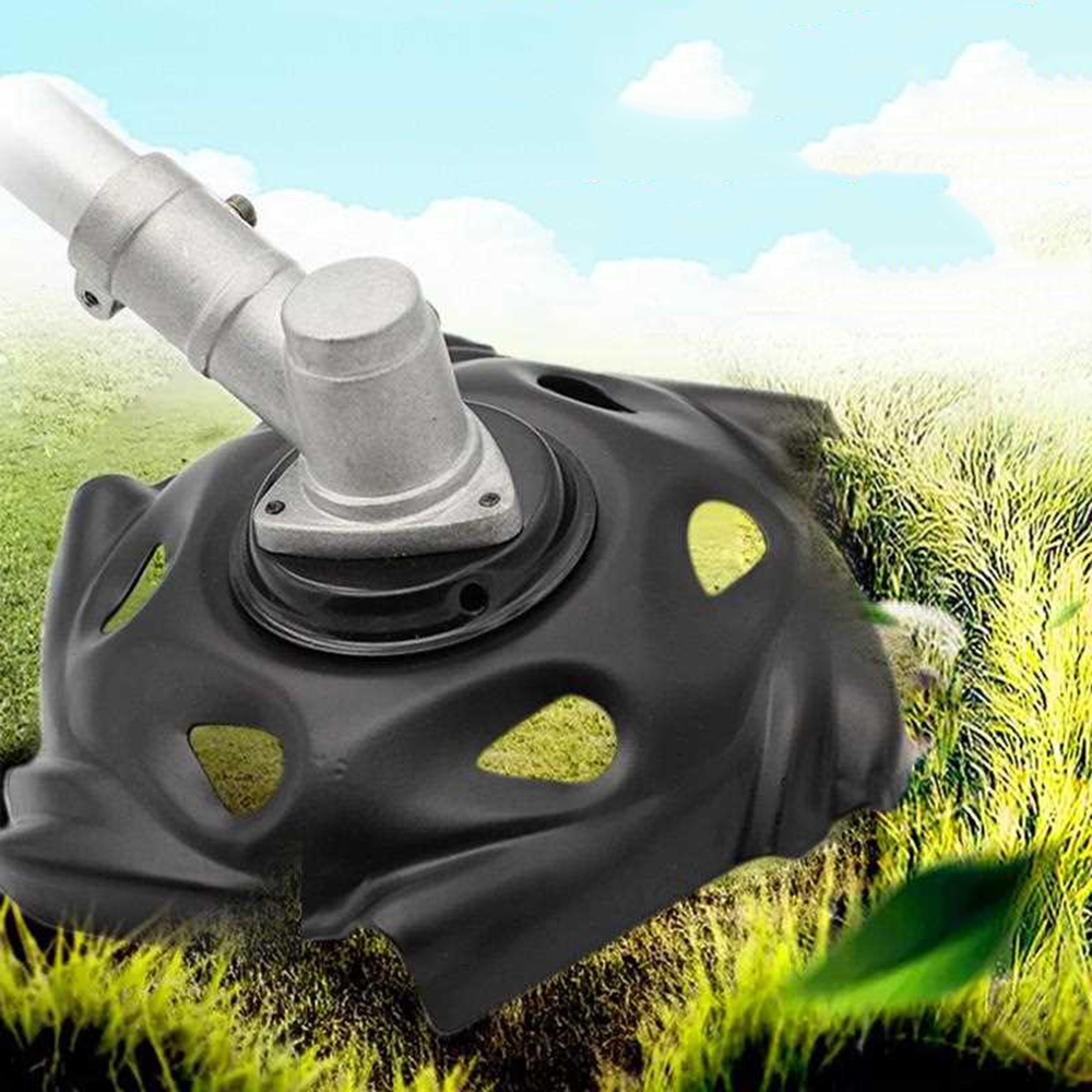 Metal Grass Mowing Weeding Tray Trimmer Head  Lawnmower Machine Portable Black Garden Power Lawn Mower Parts Tool Useful|Parts & Accessories|Home & Garden - title=