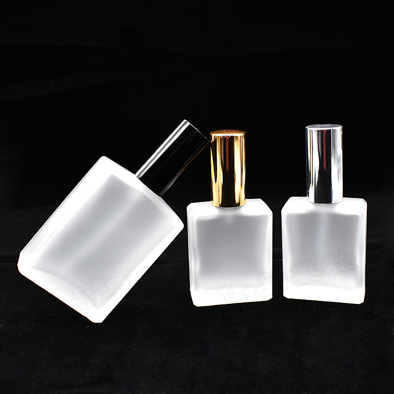 H&D 1pc 15/50/100ml Empty Refillable Portable Perfume Bottle &Traveler Glass Spray Atomizer Transparent Frosted Perfume Bottles three 100ml