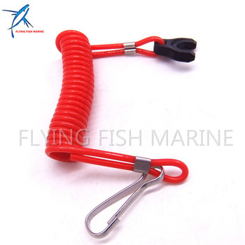 353068210 353-06821-0 353068210M Kill Stop Switch Safety Lanyard Cord For Tohatsu Nissan Outboard Motor фото
