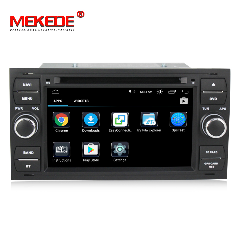HD Android 8.0 Pour Ford Mondeo s-max Point C-MAX Galaxy Fiesta Forme Fusion 2 DIN voiture lecteur DVD radio GPS stéréo navigation