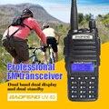Baofeng uv82 vhf uhf 137-174 400-520 mhz radio de dos vías transceptor de radio de doble banda walkie talkie frecuencia portátil comunicador