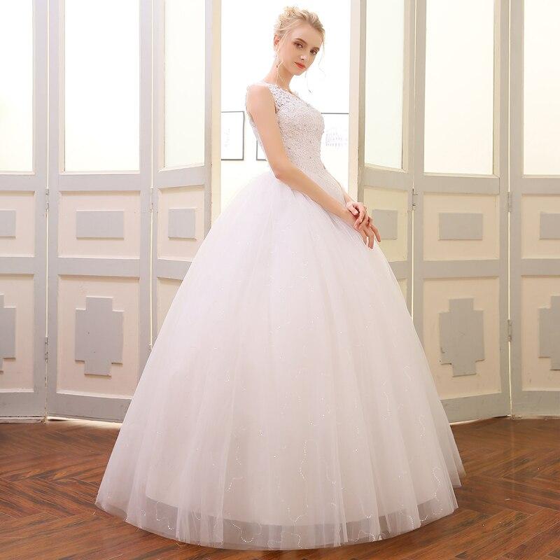 QQ Lover 2018 Högkvalitativ Ballkjole Bröllopsklänning Alibaba - Bröllopsklänningar - Foto 3
