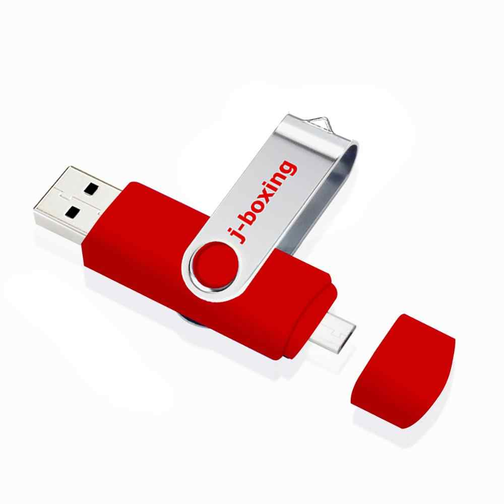 J-الملاكمة الأحمر وتغ 16GB ذاكرة فلاش USB عصا المزدوج ميناء بندريف 16gb المصغّر usb فلاش محركات لسامسونج هواوي xiaomi LG اللوحي