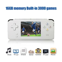 Video Handheld Game Console Retro 16GB Video Game Retro Handheld Game Player Built in 3000 Games sz