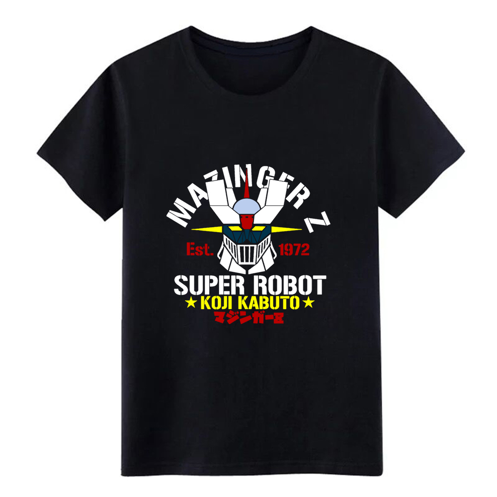 <font><b>mazinger</b></font> <font><b>z</b></font> <font><b>t</b></font> <font><b>shirt</b></font> printed Short Sleeve Round Collar Family Interesting Basic Spring Autumn Pattern <font><b>shirt</b></font> image