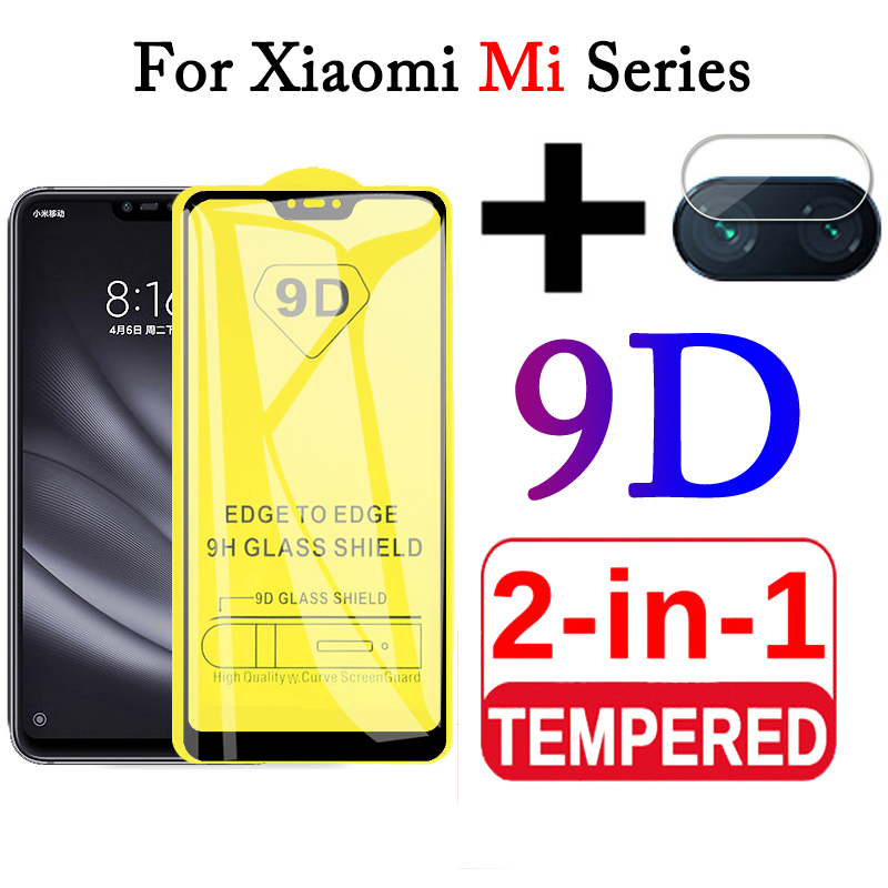 2 in 1 9D Protective <font><b>Glass</b></font> for Xiaomi <font><b>Mi</b></font> <font><b>8</b></font> Lite <font><b>Glass</b></font> <font><b>Camera</b></font> Tempered <font><b>Glass</b></font> for Xiaomi <font><b>Mi</b></font> <font><b>8</b></font> Screen Protector Mi8 light Mi8lite image