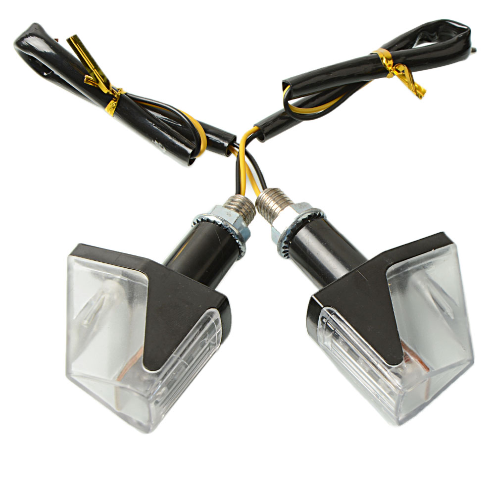 Image 3 - 2 pcs Motorcycle Waterproof steering lights turning signals light modified direction LED turn signal lights Super bright blinker