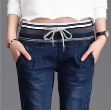 Hot Pants 2018 Summer Women Jeans Stretch Skinny Pant Elastic Denim Jean High Waist Slim Casual Pencil Jeans Fast Shipping toyouth jeans women 2018 summer autumn high waist jean casual skinny jeans female pencil denim pants