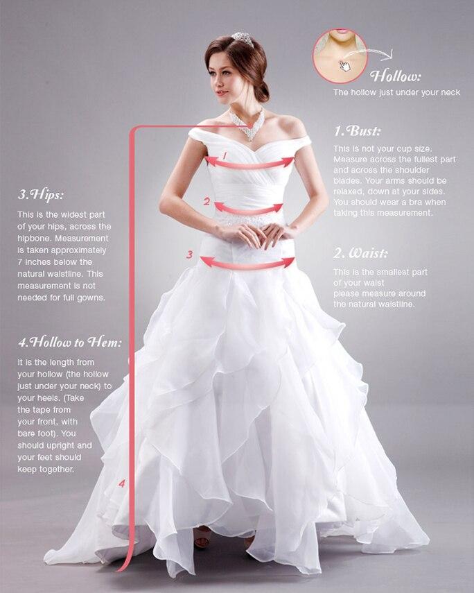 ZYLLGF Bridal Custom Made Long Sleeved Wedding Gowns Satin Wedding ...