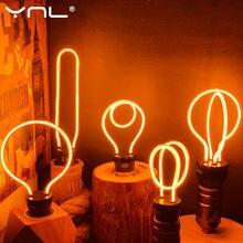 Bombilla LED Edison E27, decoración, novedad, AC220V, 4W, 4,5 W, 8W, para vacaciones, lámpara de Navidad