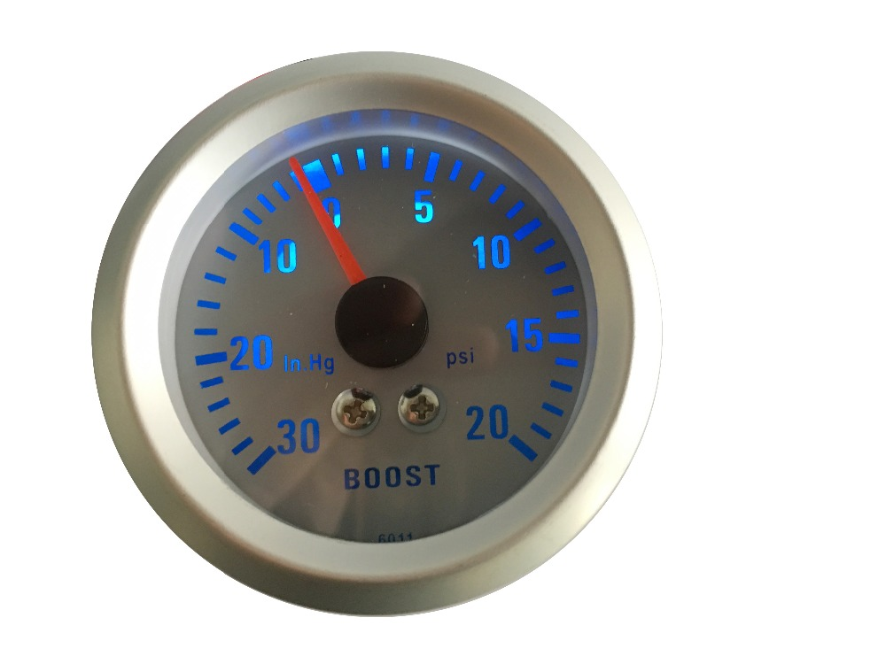 Universal Auto Gauges : Inch mm universal car analog boost turbo gauge