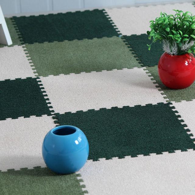 US $35.0 |11,82 Zoll (30 cm) Eva Schaum Samt Ameisen Puzzle Matte Baby  Teppich Wohnzimmer Schlafzimmer Teppiche 9 teile/paket in 11,82 Zoll (30  cm) ...