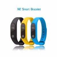 IP67 Intelligent M2 Smart Wristbands Smart Watch Fitness Sport Bracelet Waterproof Call Reminder for Android IOS Smart phone