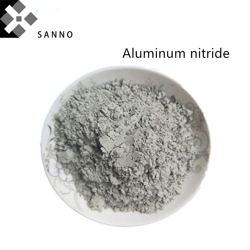 High Purity 99.9% Aluminum Nitride Powder Thermal Conductive AlN Metal Powder For Metallurgical Industry