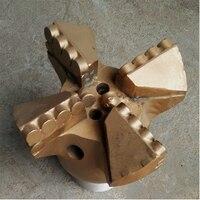 Заводская розетка 151 мм 4 крыла Дробовые коронки, pdc режущее долото для раскопок и бурения, Буровая головка скважины воды
