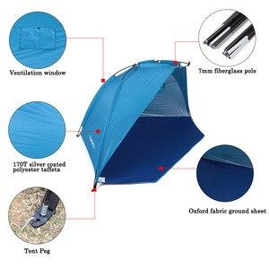 Image 4 - TOMSHOO חיצוני חוף אוהל שמש מקלט 2 אדם חסון 170T פוליאסטר שמשיה אוהל לדיג קמפינג טיולי פיקניק פרק