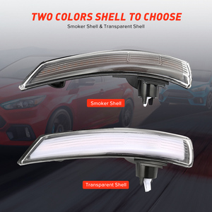 Image 3 - 2 pieces Dynamic Turn Signal Light LED Side Wing Rearview Mirror Indicator Blinker Repeater Light For Ford Focus 2012 2018