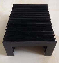 Accordion protective cover,Inside:155mmx70mm, Outside:195mmx90mm,Lmax=350mm