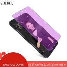 Full Cover Anti Blue Screen Protector for Xiaomi Redmi 4 Pro 4A 4X Anti-Blue Purple Light Tempered Glass Film 3 3S 3X