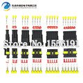 6 sets contain (1+2+3+4+5+6P) for AMP 1.5 Connectors adapter connector, Automotive waterproof connectors Xenon lamp connector