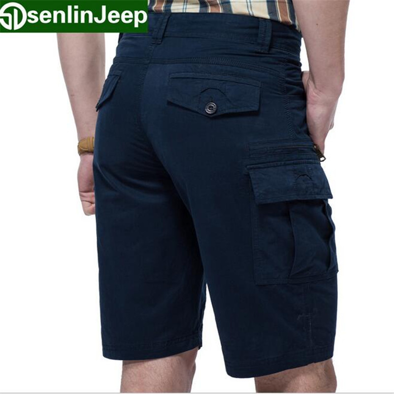Prepare your wardrobe for an off-duty look with our range of men's cargo shorts in a host of colours. Whether hiking or a weekend trip, the comfortable and stylish men's shorts in bold colours like black or blue are a must-have, while the grey or green cargos will make a classy addition to your collection.