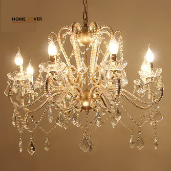 Modernas l mparas de ara a de cristal para sala de estar dormitorio y cocina k9 l mpara de - Lamparas arana modernas ...
