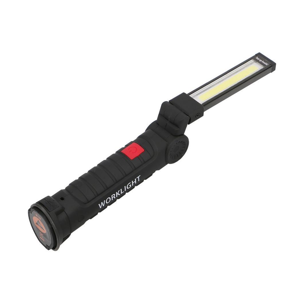 Led Wiederaufladbare Magnetische Taschenlampe Flexible Inspektion Lampe Cordless Arbeitsscheinwerfer Guter Geschmack Professionelle Beleuchtung Haben Sie Einen Fragenden Verstand Cob