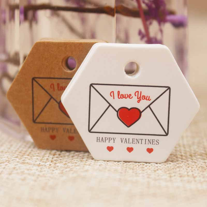 3*3.5cm Mutli Styles Diy  Happy Valentines Day Gifts Label Tag Sweet Love Valentines /get Married Wedding Label Tag 200pcs /lot