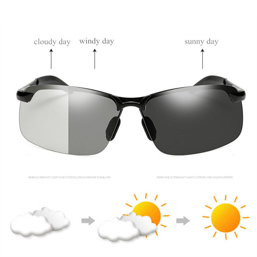 Sunglasses Outdoor Sports Retro Round Grey Accessories Windshield Shades Goggle Surfing Fishing