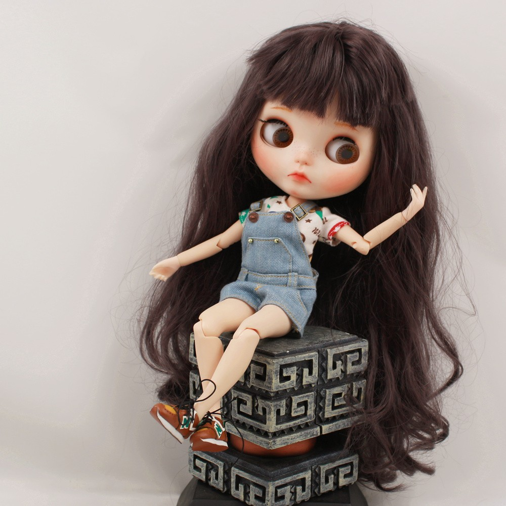 Neo Blythe Doll Shirt With Casual Pants & Rompers Suit 2