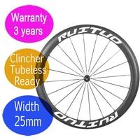 """טוב באיכות פחמן אופני גלגלי 55 מ""""מ 3 שנים אחריות ישר למשוך אופניים נימוק מכריע ללא פנימית גלגל R36 cearmic DT רכזת-בגלגל אופניים מתוך ספורט ובידור באתר"""